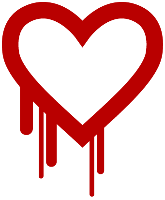 Heartbleed logo.