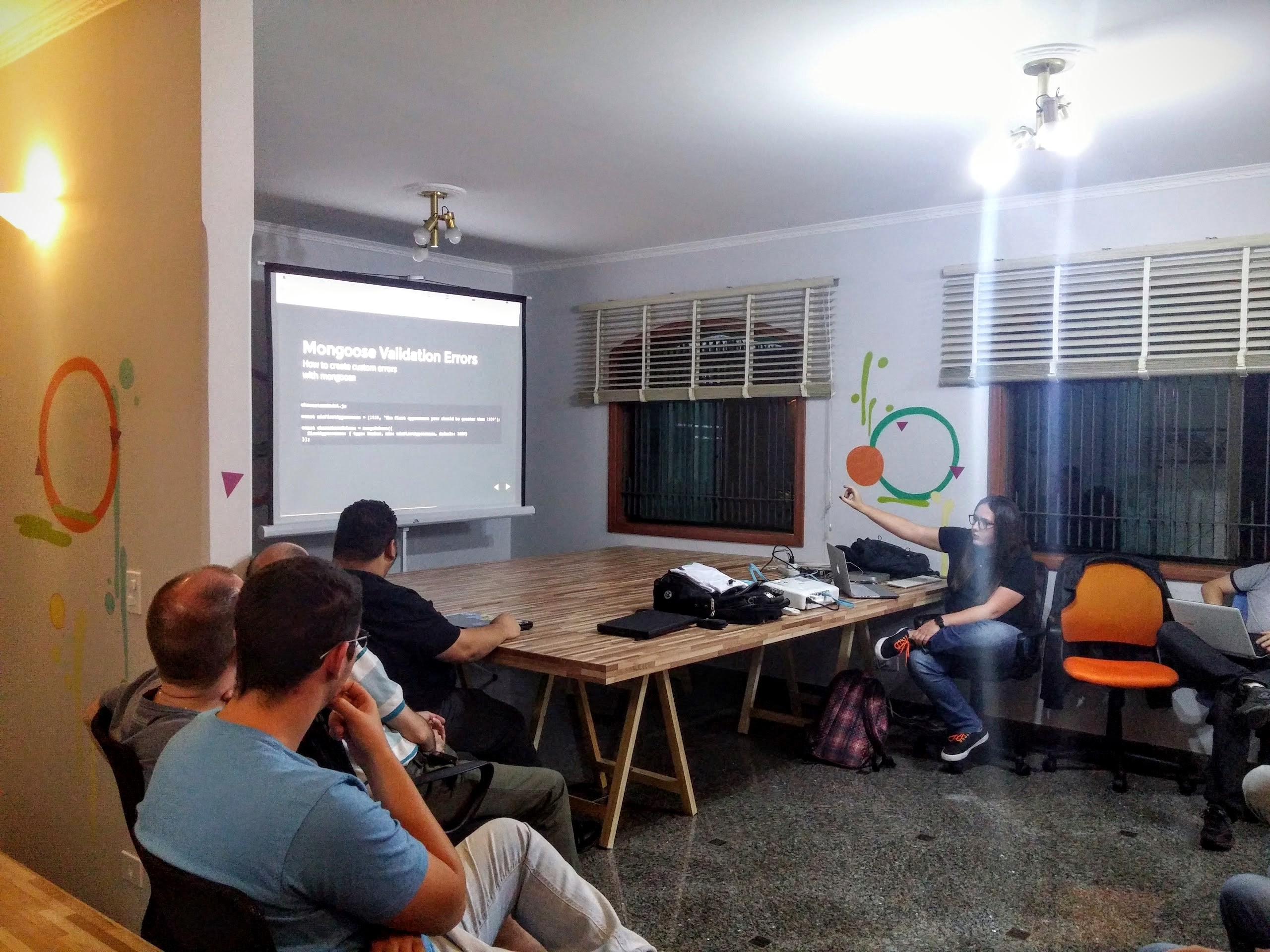 My presentation at Meetup Node.js